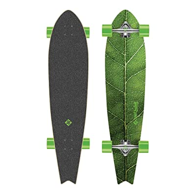 Street Surfing Fishtail 42 Longboard Mixte Adulte, the Leaf