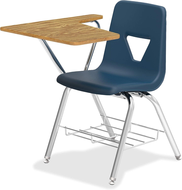 Amazon.com: Lorell Tablet Arm Study Top Student Combo Desks-42/CT