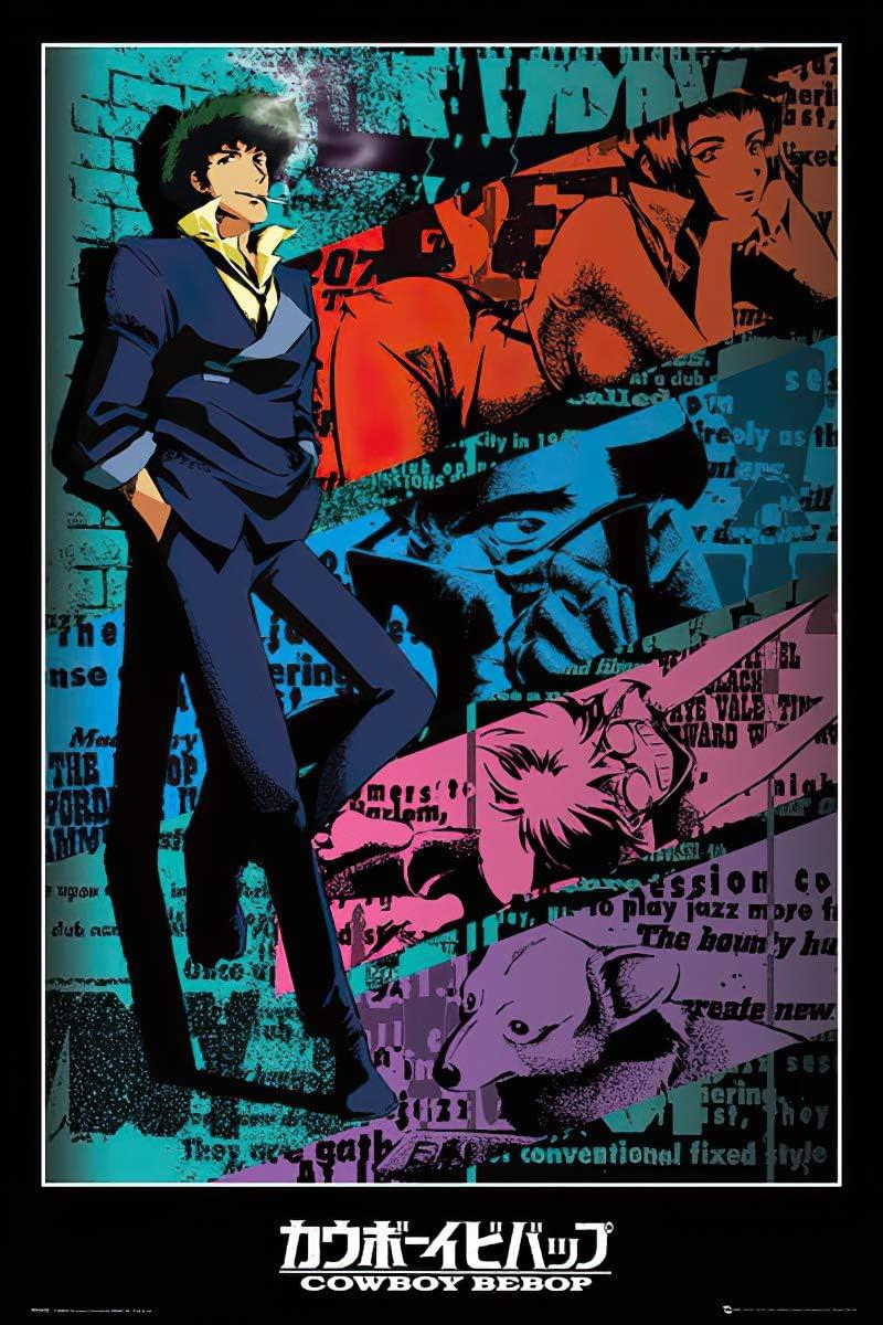Cowboy Bebop poster.