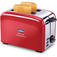 Kent 16030 850-Watt 2-Slice Pop-up Toaster (Red)