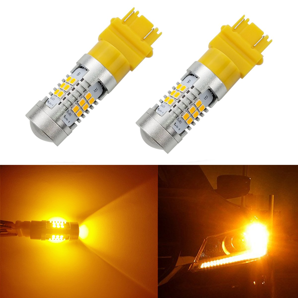 iBrightstar Bombillas LED con proyector de recambio para luces ...