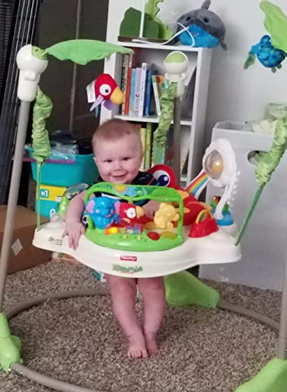 Fisher-Price Rainforest Jumperoo Best toy ever!!!