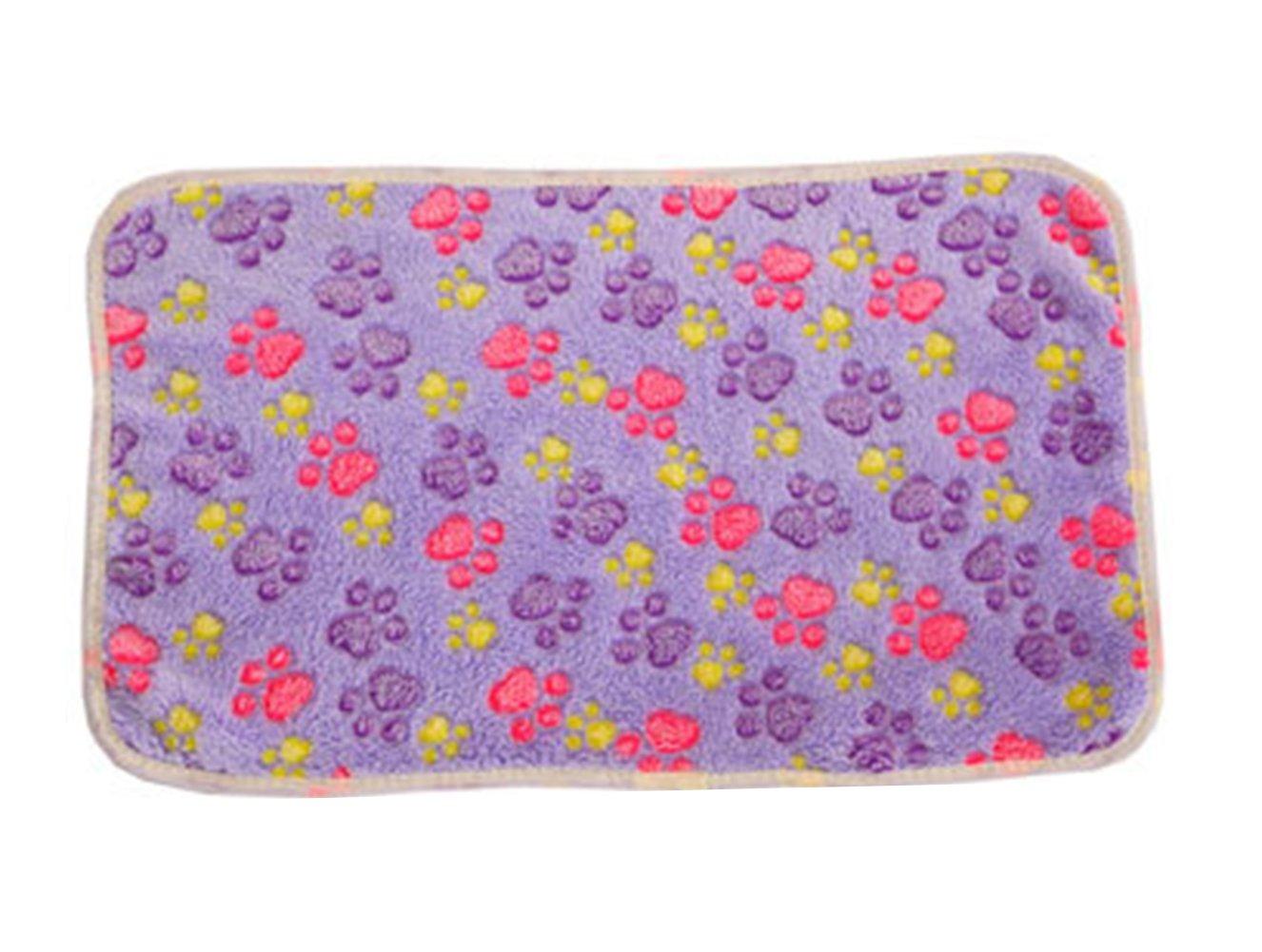 Cdet Cobija pequeño pañuelo de cachorro de perro puppy paño de malla suave suministros para mascotas 20*20cm,Caqui