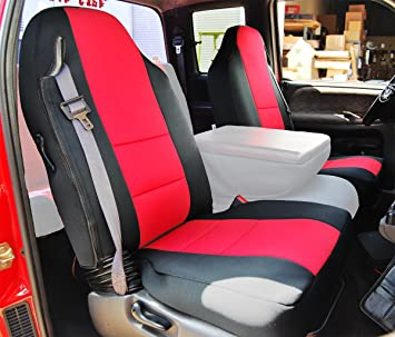 amazon com iggee 1998 2002 dodge ram 1500 2500 3500 black red artificial leather custom made fit front seat covers automotive iggee 1998 2002 dodge ram 1500 2500 3500 black red artificial leather custom made fit front seat covers