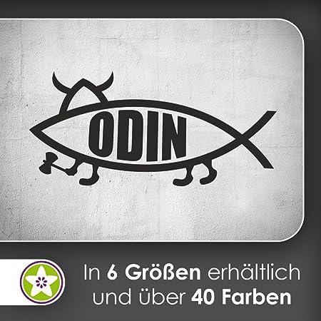 Kiwistar Odin Pescado Fish Pared Adhesivo en 6 tamaños - - Vinilos ...
