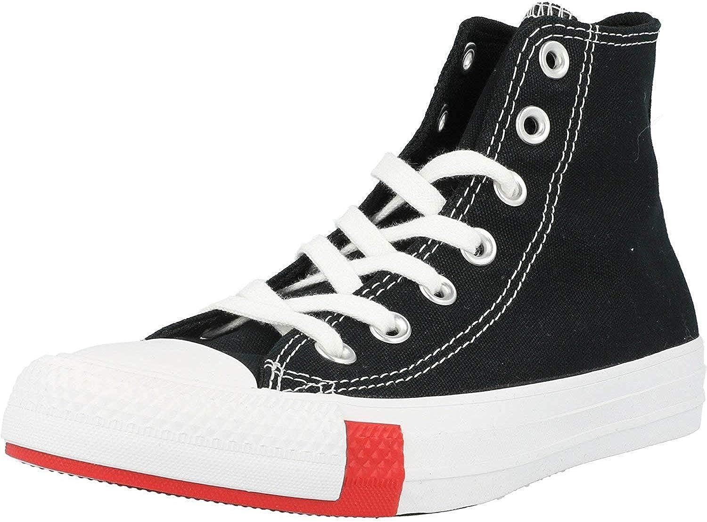 zapatillas casual unisex de lona logo play alta converse