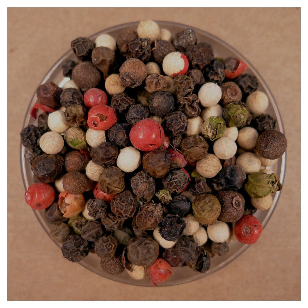 Peppercorns, Five Blend Whole - 25 lbs Bulk by Spices For Less (Image #1)