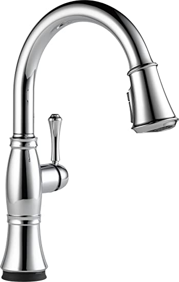 Delta Faucet Cassidy Single Handle Touch Kitchen Sink Faucet With