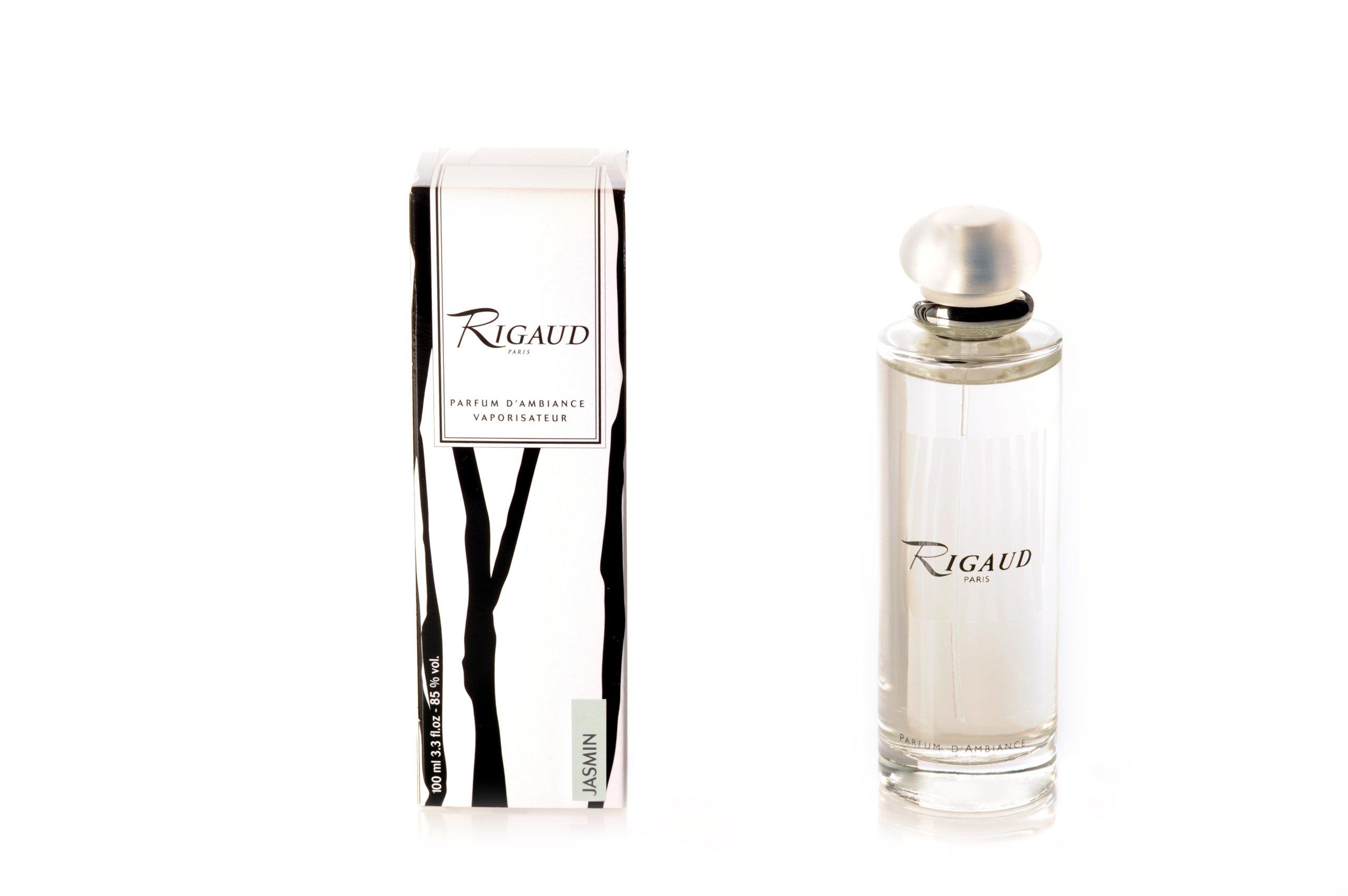 Rigaud Paris, Jasmin Room Spray / Fragrance (Parfum d'ambiance Vaporisateur), 3.3 fl. oz, Made in France by Rigaud