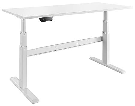 Celexon elektrisch höhenverstellbarer Schreibtisch Professional eAdjust-65120W - Weiß - Höhe: 65-120cm - inkl. Tischplatte 12