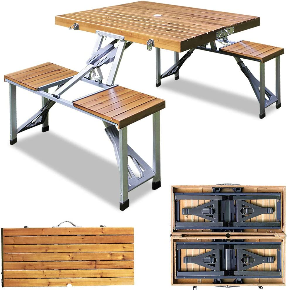 camping tisch stuhl set