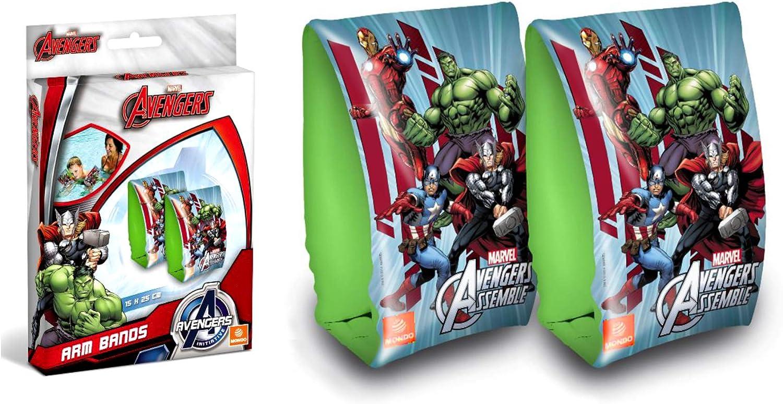 Avengers Manguitos brazaletes hinchables (Mondo 16303): Amazon.es: Juguetes y juegos