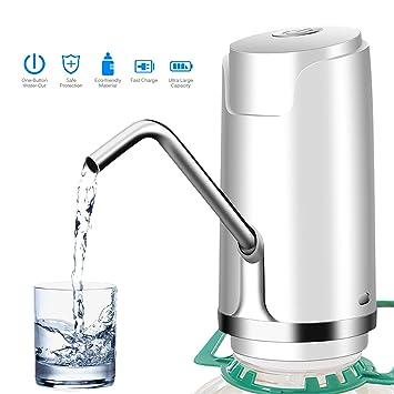 Bomba de agua potable eléctrica, interruptor universal del dispensador de la bomba de agua de la botella del galón (Ordinario): Amazon.es: Hogar