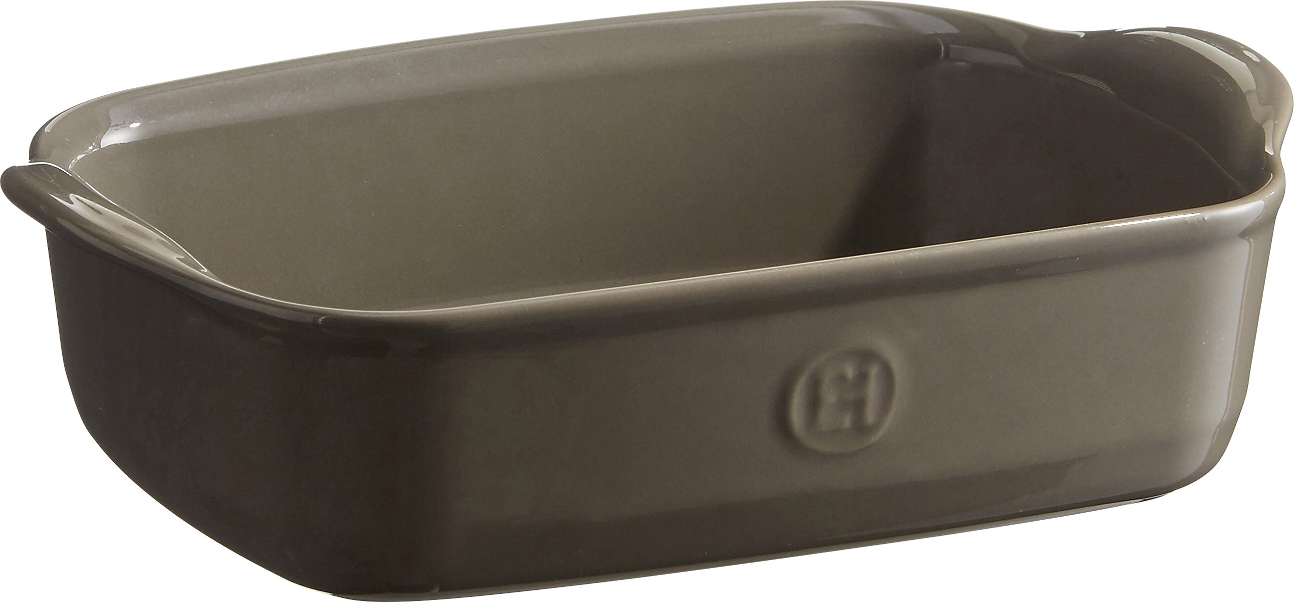 Emile Henry 959649 Rectangular Baking Dish, 8.7'' x 5.5'', Flint by Emile Henry