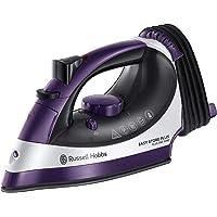Russell Hobbs RHC1100 Easy Store Pro Steam Iron, Purple/White