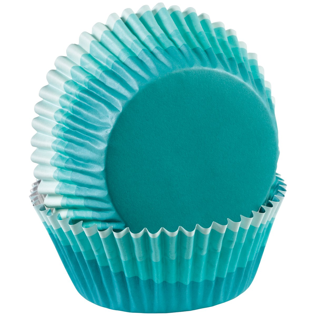 Wilton ColorCup Standard Baking Cups, Blue Ombre, 36-Pack