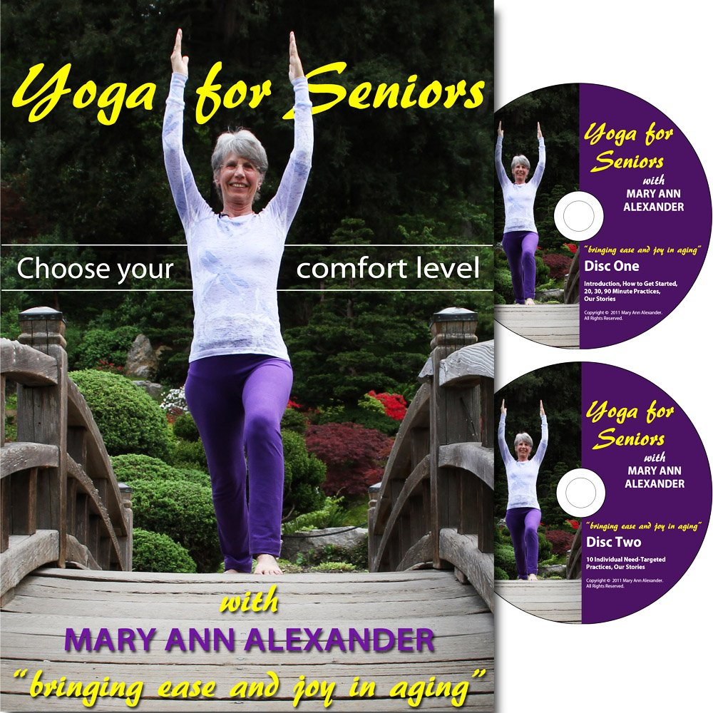 Amazon.com: Yoga for Seniors - 2 DVD Set: Mary Ann Alexander ...