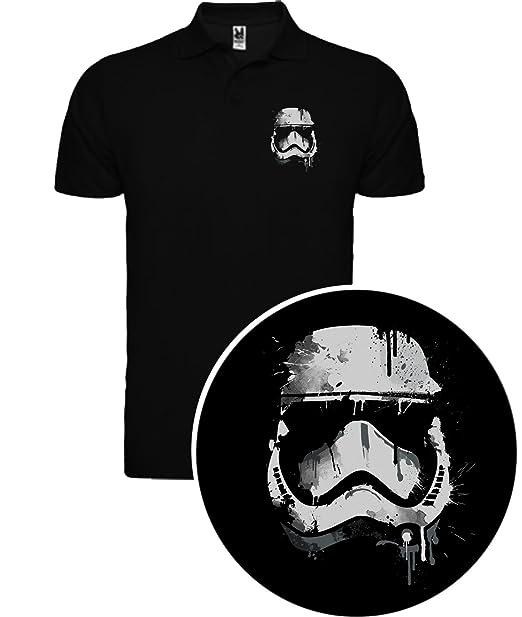 The Fan Tee Polo de Hombre Star Wars Dark Vader Han Solo Fuerza Hora Leia XLWG9n2NU
