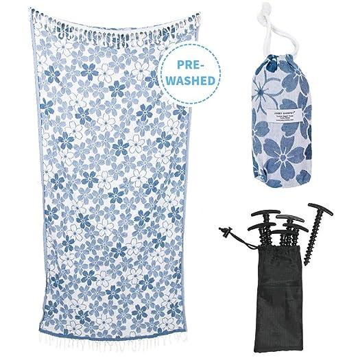 Amazon.com: Juego de toallas de diseñador 100% algodón turco ...