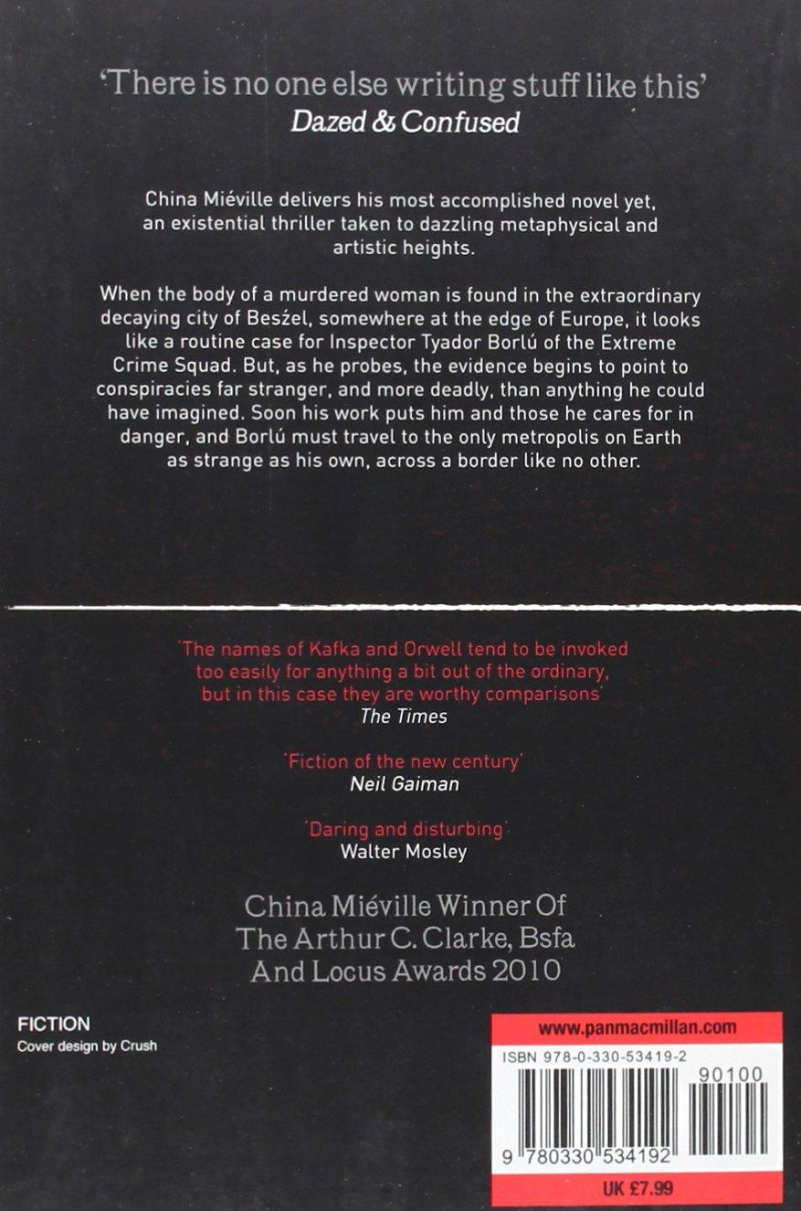 The City & The City: Amazon: China Mi�ville: 9780330534192: Books
