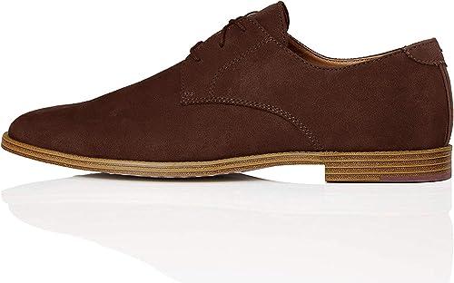 TALLA 42 EU. Marca Amazon - find. Zapato Clásico con Cordones para Hombre
