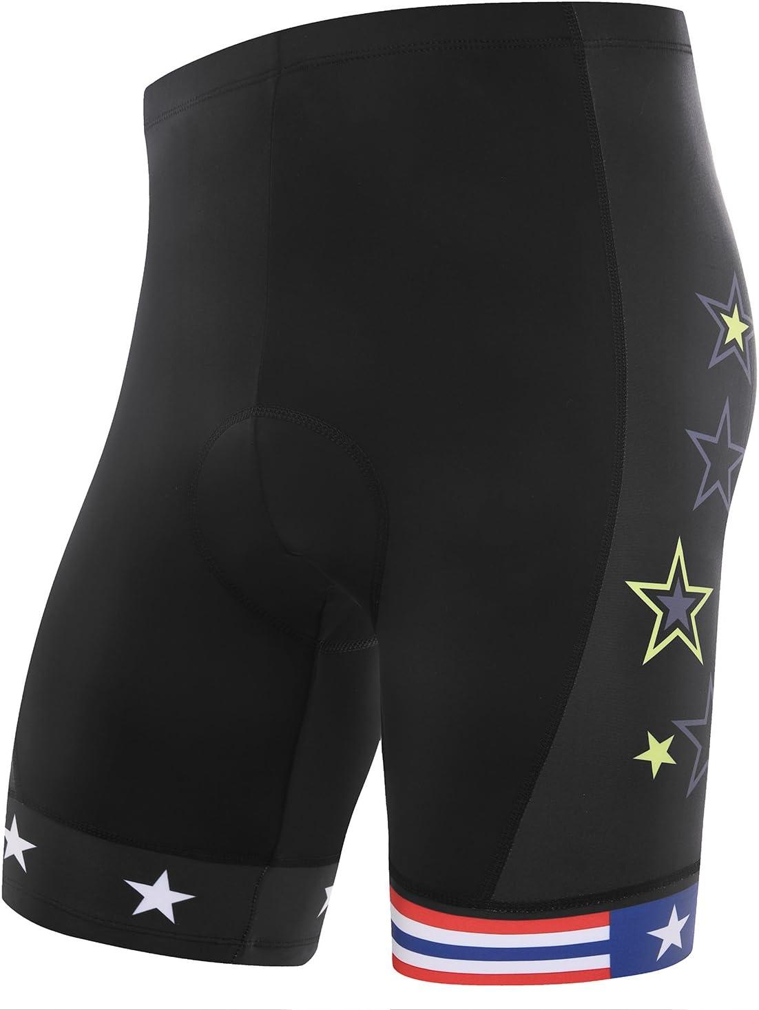 Bpbtti Men/'s Mountain Bike Shorts 3D Padded MTB Cycling Shorts-The Enduro Baggy Shorts