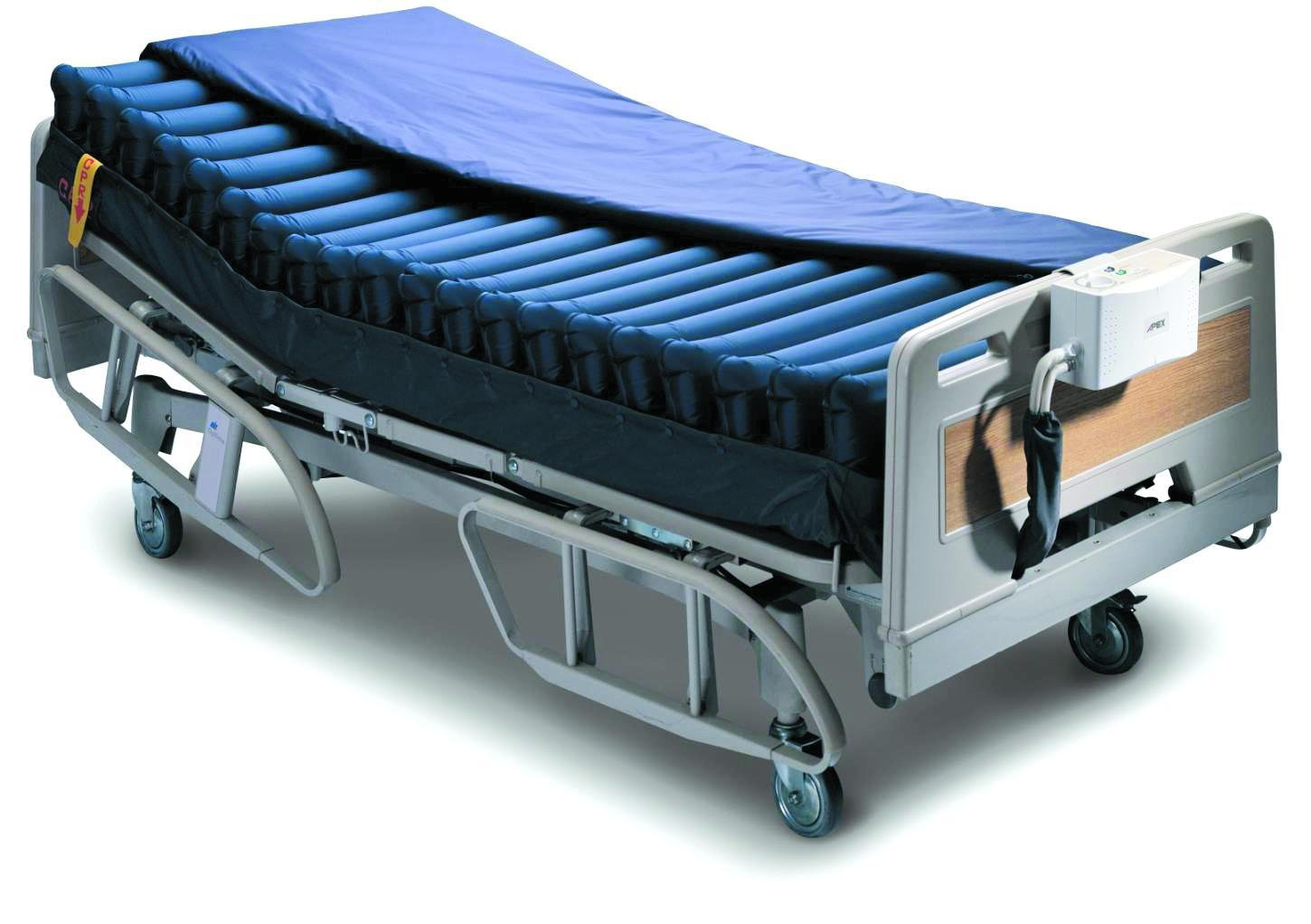 "Invacare Alternating Pressure Relief Mattress Replacement System 78.7'' x 35.4'' x 8"" (inflated)"