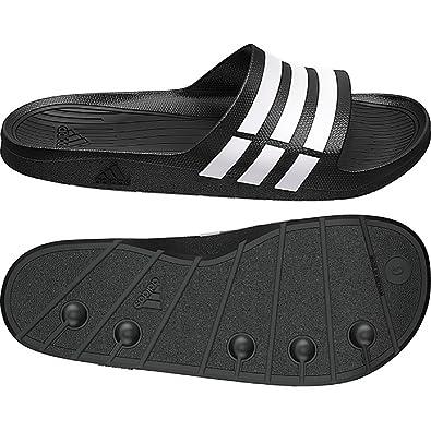Adidas , Tongs pour garçon - Noir - noir, UK 8 / EUR 42/ US 8/ 26.5CM