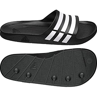 81b67e31c69a ADIDAS MENS DURAMO SLIDE FLIP FLOPS SANDALS POOL SHOES (UK 9   EUR ...