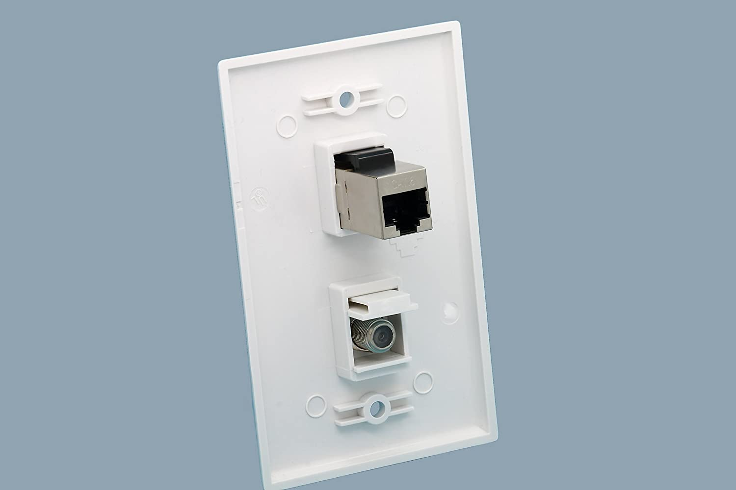 Cable And Ethernet Wall Plate Wiring | Repair Wiring Scheme