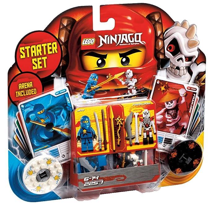 LEGO NINJAGO 2257 Conjunto de Iniciaciación Spinjitzu ...