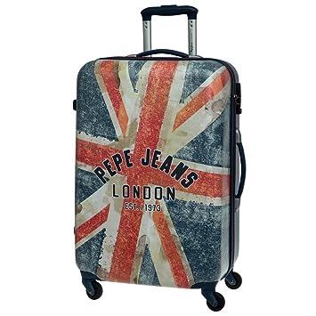Pepe Jeans Maleta Grande, Diseño London Bandera, 64 litros: Amazon.es: Equipaje