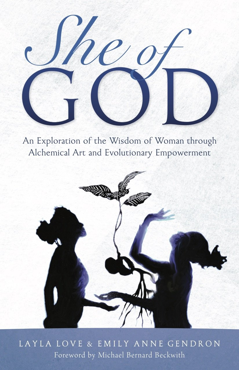 She of God: Alchemical Art Deck & Evolutionary Empowerment Book―An Exploration of the Wisdom of Woman thru Visionary Art, Timeless Quotes and Conscious Creation to Achieve Your Highest Potential
