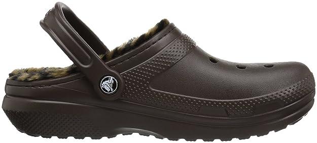 Crocs - Classic Lined Animal Clog - Espresso Black , Taille:42-43 Eu