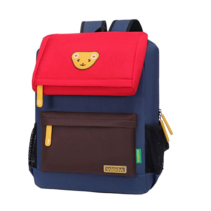 28bcfd5bce Willikiva Cute Bear School Backpack for Children Elementary Primary School  Bags Bookbags  Amazon.co.uk  Clothing