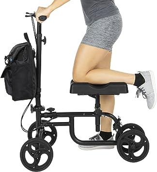 Amazon.com: Carrito rodante con soporte para rodilla Vive ...