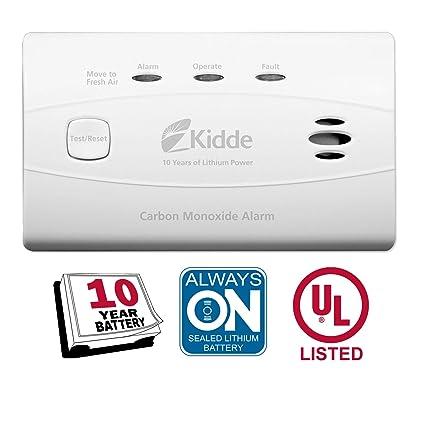Amazon.com: Kidde alarma de monóxido de carbono sin ...