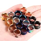 "Kangyijia 8 Pairs 1/2"" (12mm) Ear Gauges Tunnels"