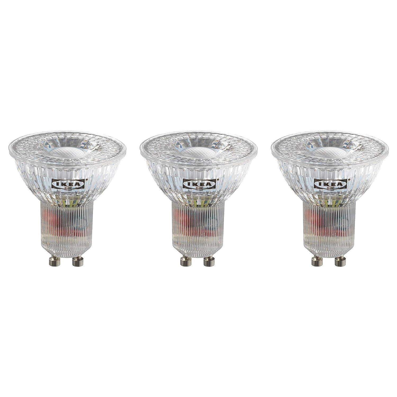 IKEA RYET GU10 - Bombillas LED (200 lúmenes, 3 unidades): Amazon.es: Iluminación