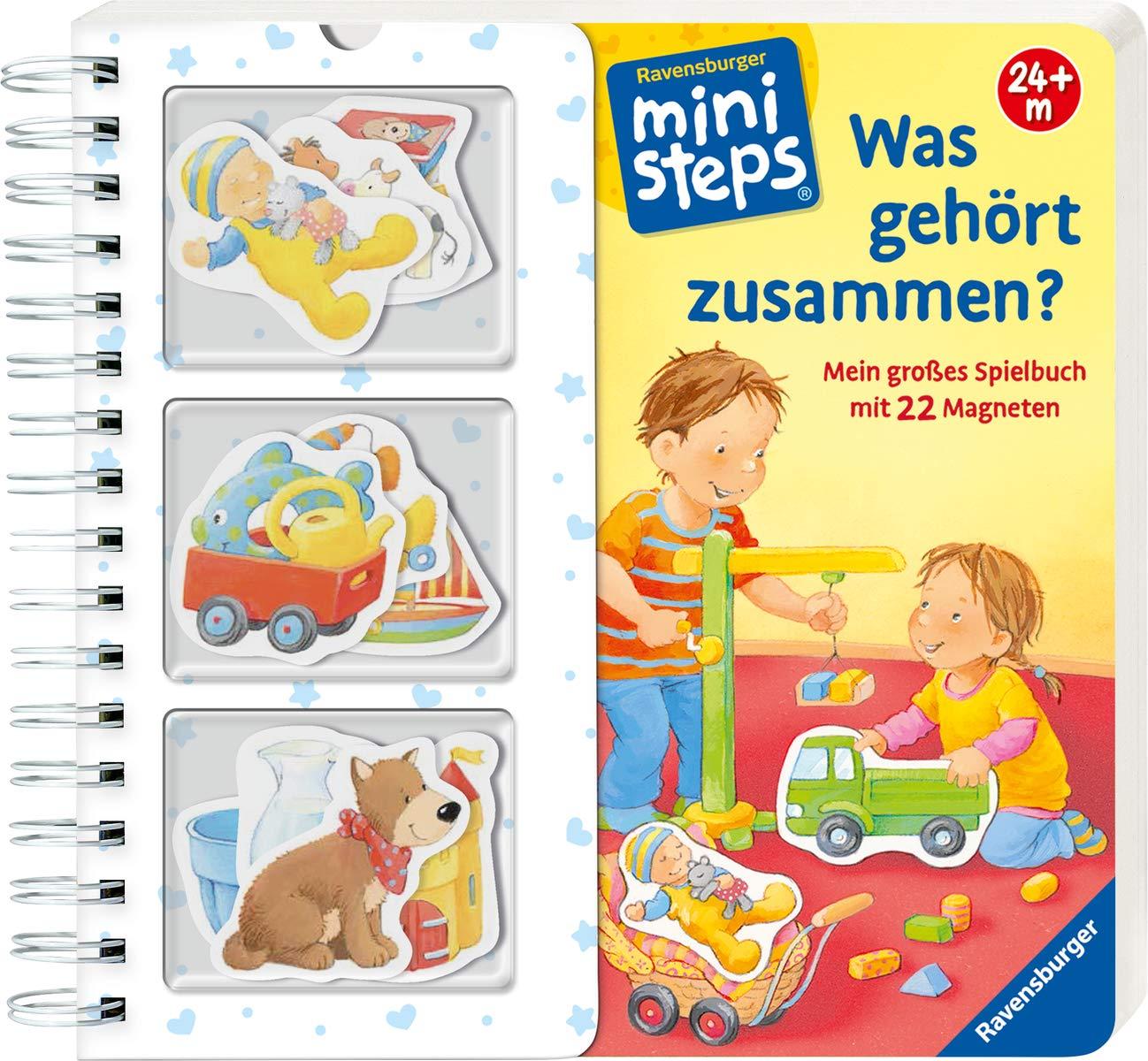 Was Gehört Zusammen   Mein Großes Spielbuch Mit 22 Magneten. Ab 24 Monate  Ministeps Bücher