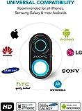 Sree Traders Bluetooth Selfie Remote Control Camera Shutter, Amazing HD Selfie Clicker for Photos Videos, 30ft Range 1 Piece Black