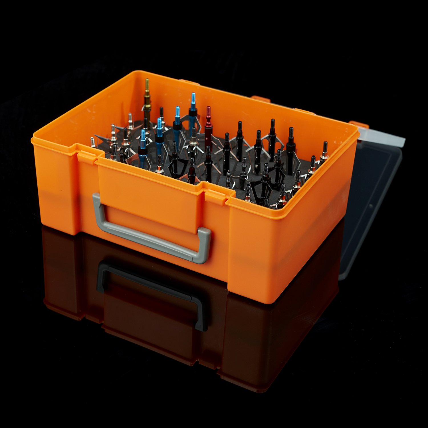 Posch Archery Broadhead Storage Case Box (Holds 36 Broadheads) Accessories Locker Holder