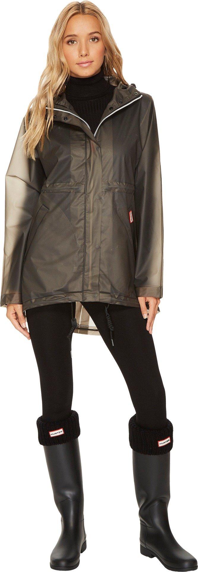Hunter Boots Women's Original Smock Coat, Dark Slate, X-Small