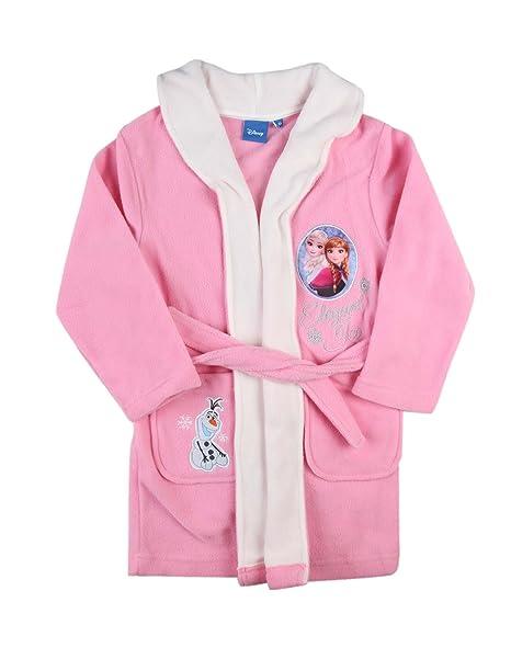 Disney – Bata polar para niña – Diseño de Frozen Rose 5 años : Amazon.es: Ropa y accesorios