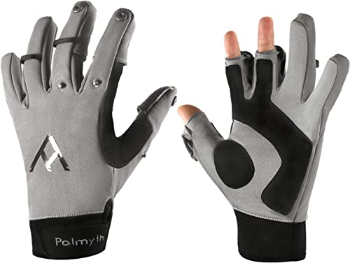 Flexible Cold Weather Ice Fishing Gloves/Mittens [Palmyth] Picture