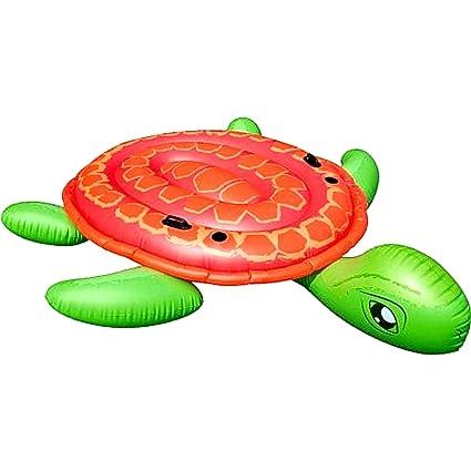 Amazon.com: Hinchable isla. Este Gigante tortuga Oasis 2 ...