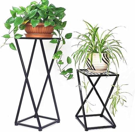 Amazon.com: 1 maceta de flores soporte para macetas de metal ...