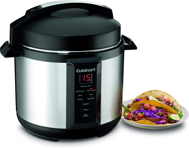 Amazon.com: Olla de presión Cuisinart CPC-600 ...
