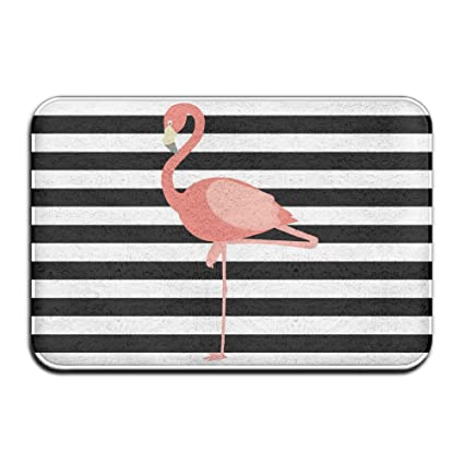 picture relating to Flamingo Printable called : Flamingo Printable Property Doormat Area Mat 4060