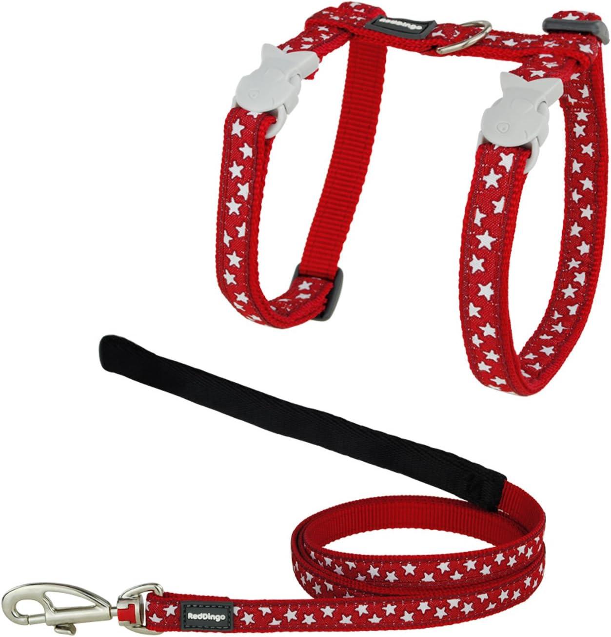 Red Dingo GmbH 9330725046658 Petral y Correa Gato Estrella, S ...